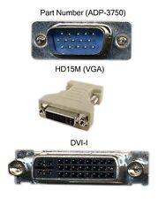 NEW LOT =FIVE! DVI-I Female to VGA Male Adapters LOT of Five (5 pcs.) ADP-3750