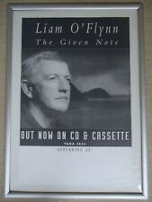LIAM O`FLYNN CONCERT GIG POSTER 1995 UNRELEASED PROMOTION POSTER THE GIVEN NOTE