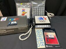 At&t Olympic Commemorative Telephone 1980 Olympic Games w/Accessories