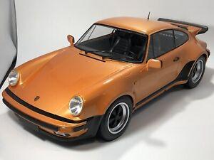 1/12 Minichamps 1977 Porsche 911 Turbo Metallic Orange MINOR FLAWS US SELLER 269