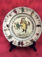 Vintage Royal Doulton Pride Pryde Goeth Before A Fall Plate