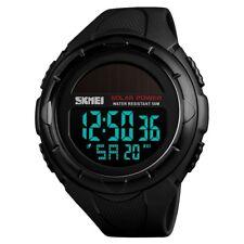 uomo solare cronometro allarme impermeabile digitale orologio da sportivo