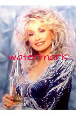 "Dolly Parton 4""x6"" busty lusty blue sequin dress picture 4""x6"" photo portrait a"