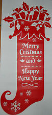 Christmas Window Decor Picture Door Decoration Sticker