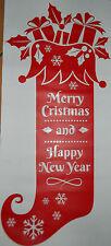 Natale Decorazione Per Finestra Immagini Porta Sticker Adesivo Natalizia