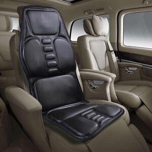 9 Motors Full Body Massager Back Seat Cushion Shiatsu Chair Massage Pad Car Home