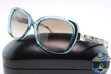 Coach Sunglasses HC 8172 5370D0 (L153) Crystal Teal/Snow Tortoise w/Gradient