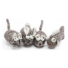 Multipet Sock Pal For Cats Catnip Toy (3 Pack)  Fish,Rabbit &Mouse