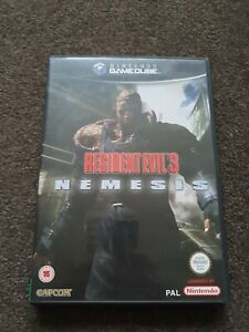 Resident Evil 3: Nemesis (Nintendo GameCube) Very good condition