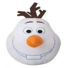 Disney Frozen Olaf Shaped Cushion 3d Nose Children Kids Adults