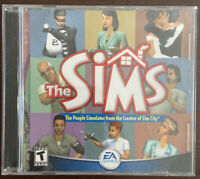 The Sims 1 Pc The People Simulator Big Box PC Complete EA Games Computer Game