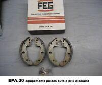 MACHOIRES DE FREIN ARRIERE CITROEN LN PEUGEOT 104 RENAULT R14 R18 FUEGO - MO225