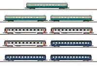 Marklin Z 87408 Eurofima Passenger 9-Car Set  DB, SBB, SNCF