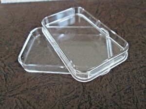 5 X 5 oz Air-Tite Capsule Holder for Silver Bars