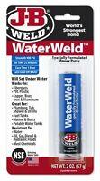 JB Weld WaterWeld Epoxy Putty Stick Underwater Setting Water Weld Adhesive
