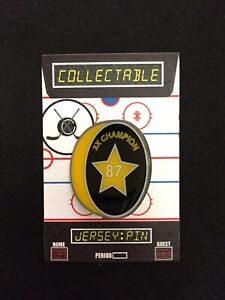 Pittsburgh Penguins Sidney Crosby hockey lapel pin-Collectible