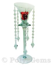 5 ACRYLIC CRYSTAL GARLANDS AND DROP PENDANT WEDDING TABLE DECORATIONS