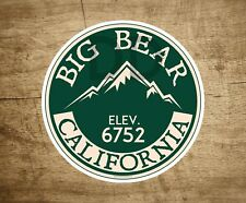 "Skiing Big Bear California 3"" Sticker Decal Ski Skier Lake Vinyl"