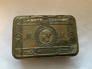 GENUINE WWI PRINCESS MARY CHRISTMAS 1914 TIN BOX