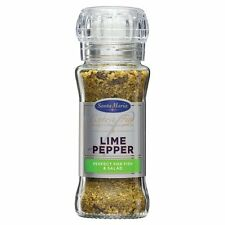SANTA MARIA Extra Fine Spices Grinder - Lime Pepper - For Fish & Salad