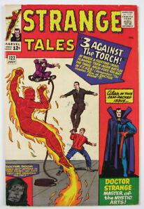 Strange Tales Silver Age Comic Book #122  1964 The Torch, Dr. Strange  Marvel
