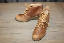 Sperry Stella Prow Women's Wedge Shoes, Brown - Size 9.5M