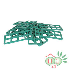 250 Inovatec Gitterklötze 140x65x5mm grün Lastabtragung Montage Ausgleich NEU