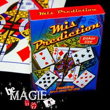 Mis prediction - 4 cartes et 1 prédiction - Tour de magie