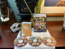 Zoo Tycoon 2 Ultimate Collection (PC, 2008) COMPLETE +Manual