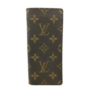 Louis Vuitton Monogram Etui a Lunettes Simple Glasses Case/E1262