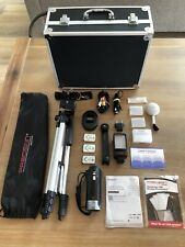Sony Handycam HDR-CX405 with tripod, extra batteries, case, and accesories
