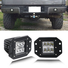 Dual Flush Mount Projector LED Pod Lights For Truck Jeep Off-Road ATV 3X3 INCH