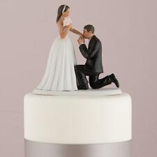 "A ""Cinderella Moment"" Wedding Cake Topper Medium Skin Tone"