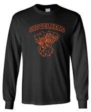 SHOVELHEAD Orange Engine LONG SLEEVE T-shirt - Harley Davidson Biker