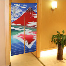 NOREN Japanese Curtain Doorway Divider Tapestry New Red Fuji Reflection 85X150cm