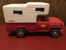 Vintage Tonka Dodge Truck With Camper 1970's Good Condition.