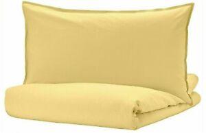 Ikea ANGSLILJA Full/Queen Duvet Cover w/2 Pillowcases set