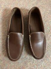 Men's Leather Sebago Driving Shoes Size 10