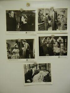Lot of 5 Gene Tierney Studio Stills & Photos 8x10  MINT