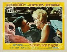 Some Like It Hot Marilyn Monroe 1959 11 x 14 True Color Reproduction Lobby Card