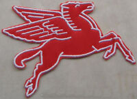 Mobil Pegasus Patch (Facing Right) Iron-On / Sew-On Cloth (OS)