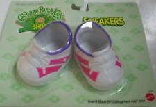 Cabbage patch kids doll baskets rose et blanc-cpk chaussures neuf
