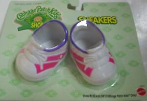 Cabbage Patch Kids Doll Sneakers Pink and White - CPK Doll Shoes Brand New