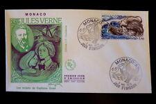 MONACO PREMIER JOUR FDC YVERT  1131      J. VERNE - GRANT      1,70F      1978