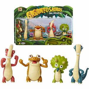 Gigantosaurus - Dino Friends 4 Figure Set BRAND NEW