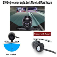 12V DC 520 TV Car Rear Front Side View Camera CCD 360 Degree Parking Waterproof