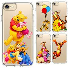 Silicone Case Cover Disney Funny Cute Winnie The Pooh Piglet Friendship