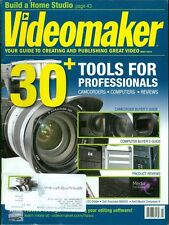 2012 Videomaker Magazine: 30+ Tools For Professionals/Computers/Reviews