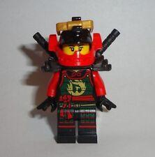 LEGO NINJAGO 2015 MINIFIGURE SAMURAI X W/ 2 BLACK SWORDS New 70750