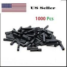 1000Pcs 1P Dupont Jumper Wire Cable Housing Female Pin Connector 2.54 mm Pitch